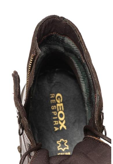 Geox Боти Alberick от кожа и велур Мъже