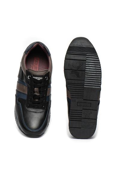 Pikolinos Pantofi sport din piele si material textil Palermo Barbati