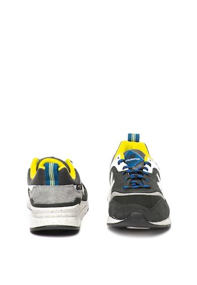 New Balance Pantofi sport cu model colorblock si garnituri de piele intoarsa 997H Classics Barbati