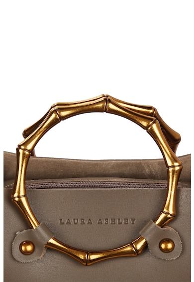 Laura Ashley Geanta de piele ecologica, cu bareta de umar si manere circulare Femei