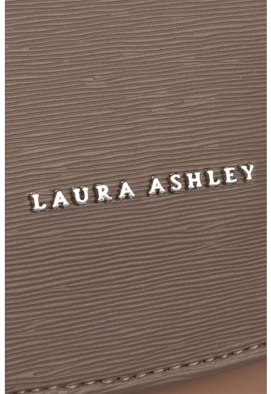 Laura Ashley Geanta de piele ecologica, cu bareta de umar si clapa Femei