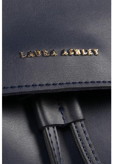 Laura Ashley Rucsac de piele ecologica, cu aplicatie logo metalica Femei