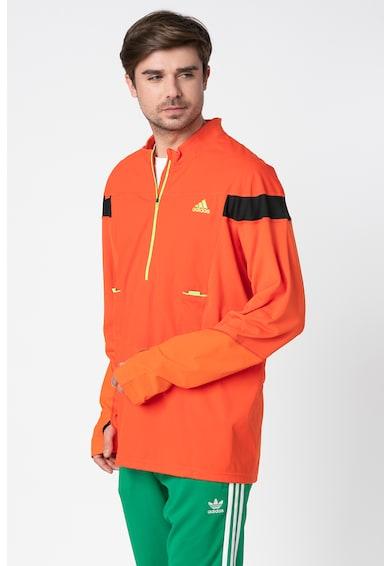 adidas Originals Блуза за бягане с цип Мъже