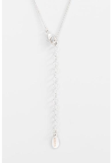 U.S. Polo Assn. Set de cercei si colier decorat cu zirconia Femei