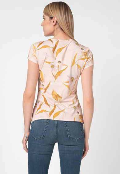 Ted Baker Tricou cu model floral Juliay Femei