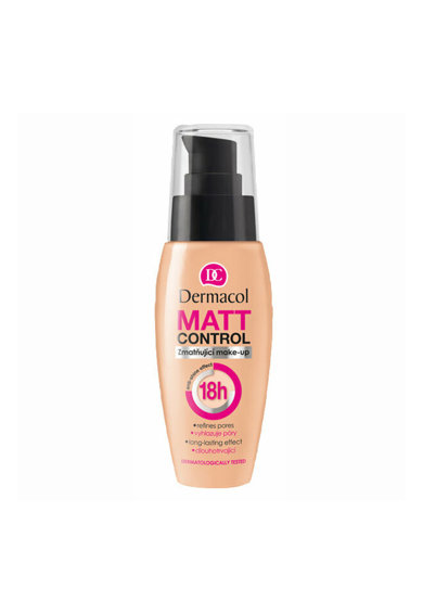 Dermacol Fond de ten  Matt Control, 30 ml Femei