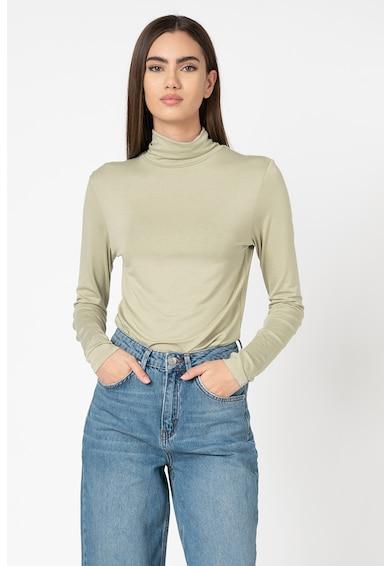 NA-KD Bluza cambrata cu guler inalt Femei