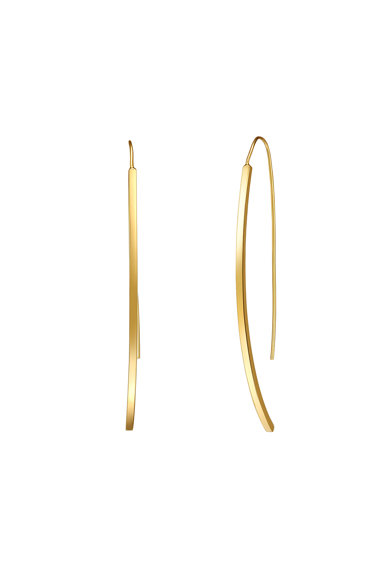 Highstreet Jewels Cercei drop placati cu aur Femei