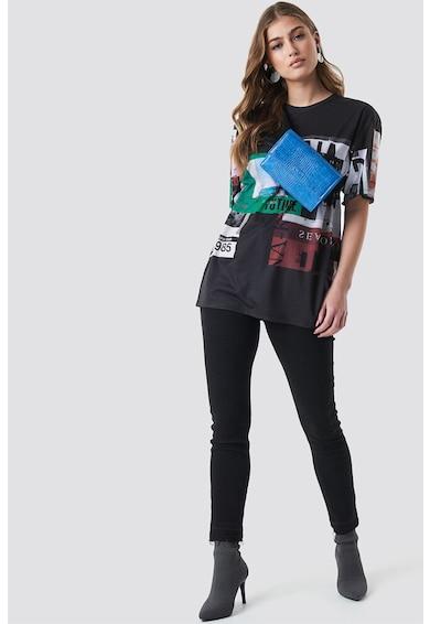 NA-KD Tricou cu imprimeu grafic Femei