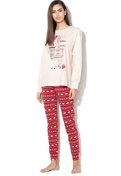 Undercolors of Benetton Pijama cu model lama Femei