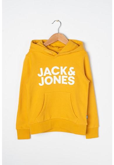 Jack&Jones Hanorac cu imprimeu logo Corp Baieti