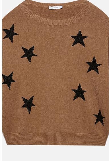 Motivi Pulover lejer cu model cu stele Femei