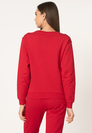 Moschino Bluza sport de casa, cu imprimeu logo cauciucat Femei