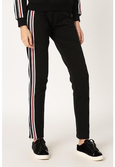 Moschino Pantaloi sport de casa, cu slituri cu fermoar la nivelul gleznei Femei