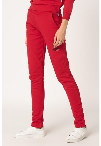 Moschino Pantaloni sport de casa, cu captuseala din fleece Femei