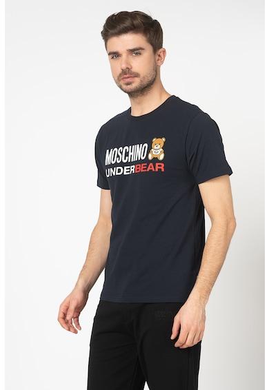 Moschino Tricou de casa cu logo cauciucat Barbati