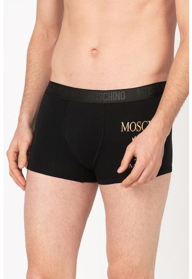 Moschino Boxeri cu model logo Barbati