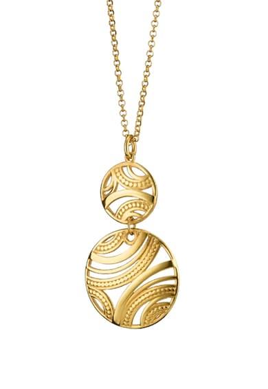 Loisir by Oxette Colier placat cu aur 18 K, cu pandantiv Femei