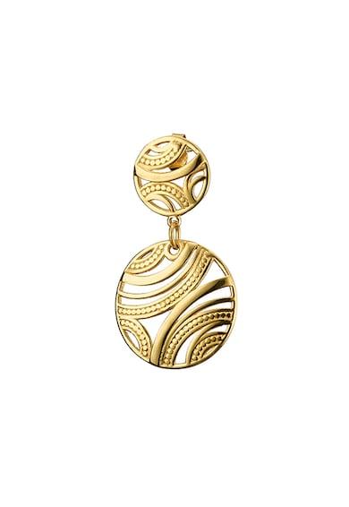 Loisir by Oxette Loisir, Cercei placati cu aur, cu aspect filigran Femei