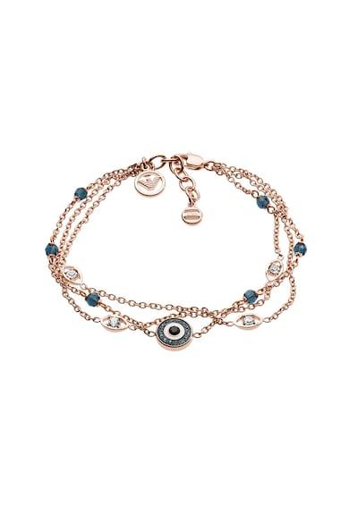 Emporio Armani Bratara cu talisman decorat cu cristale Femei