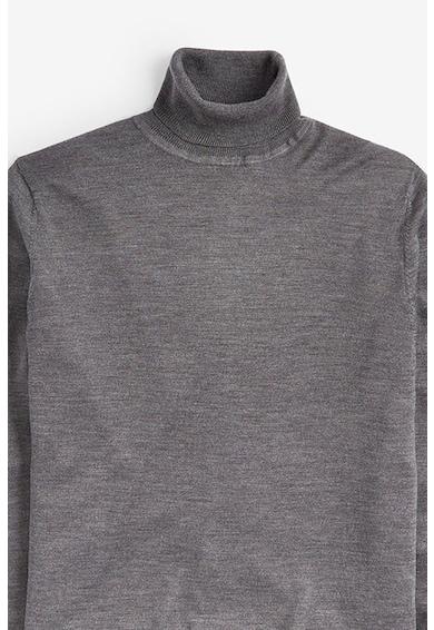 NEXT Pulover din lana Merinos cu guler inalt Barbati