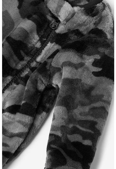 NEXT Salopeta din fleece cu imprimeu camuflaj Baieti