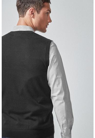 NEXT Vesta din tricot fin cu decolteu in V Barbati