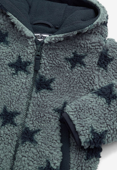 NEXT Palton din material teddy cu model cu stele Baieti
