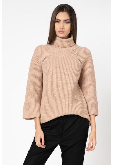 Stefanel Pulover din amestec de lana, cu guler inalt Femei