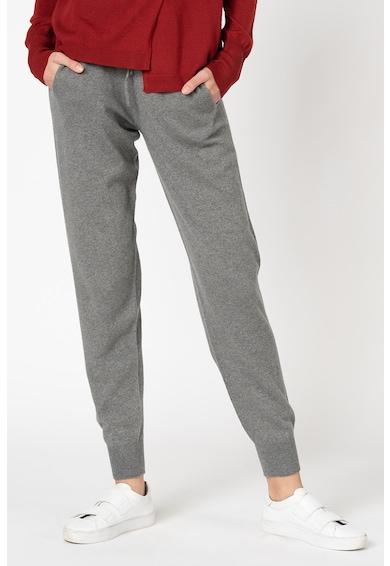 Stefanel Pantaloni sport din amestec de lana si casmir Femei