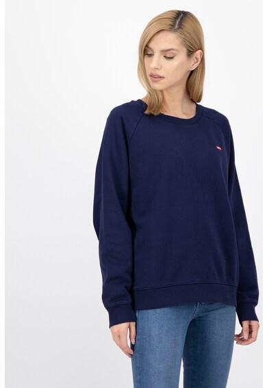 Levi's Bluza sport cu decolteu la baza gatului si detaliu logo Femei