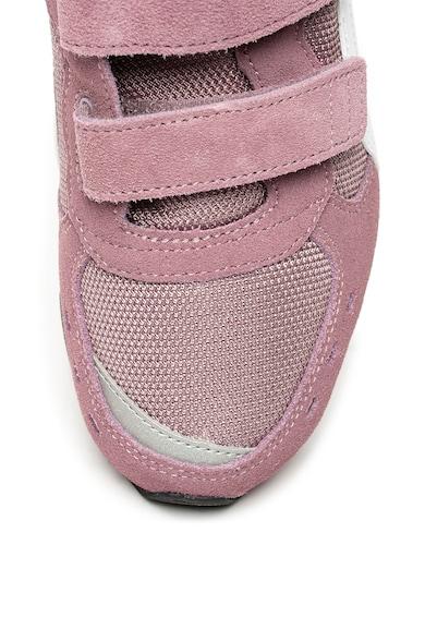 Puma Pantofi sport cu velcro si insertii de piele intoarsa Vista Fete
