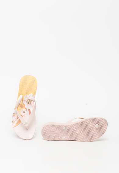 Ted Baker Papuci flip-flop cu funda in relief Coulia Femei
