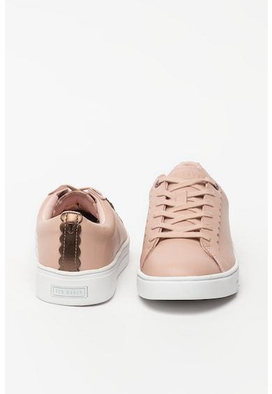 Ted Baker Pantofi sport de piele cu terminatii valurite Tillys Femei