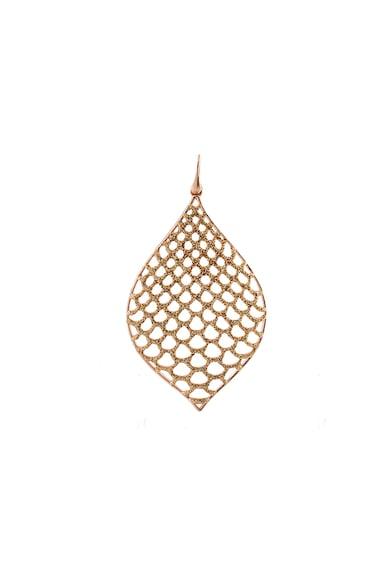Loisir by Oxette Cercei drop cu placaj de aur rose 18K Femei