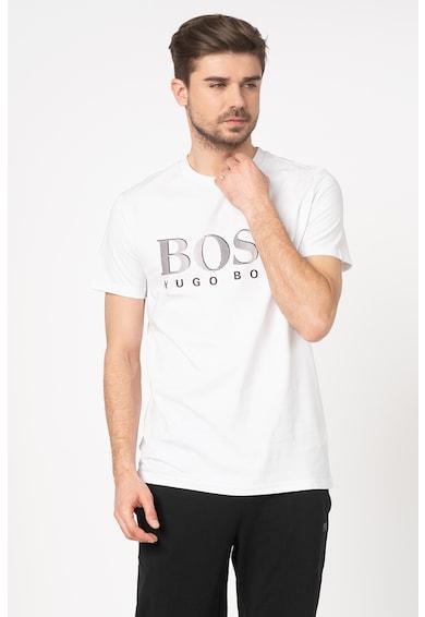 Boss Hugo Boss Tricou de plaja cu imprimeu logo Barbati