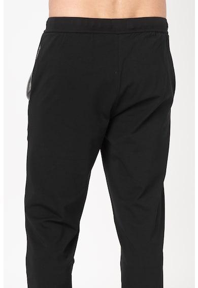 Boss Hugo Boss Pantaloni de casa, din jerseu, cu snur pentru ajustare Barbati