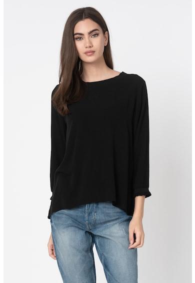 Esprit Bluza vaporoasa cu terminatie asimetrica Femei