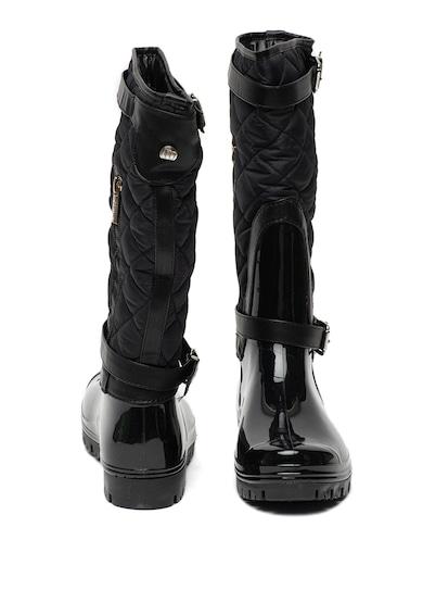 MTNG Cizme de ploaie, pana la genunchi, cu insertii matlasate Femei