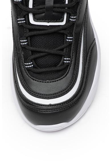 MTNG Pantofi sport din piele ecologica, cu insertii din plasa Femei
