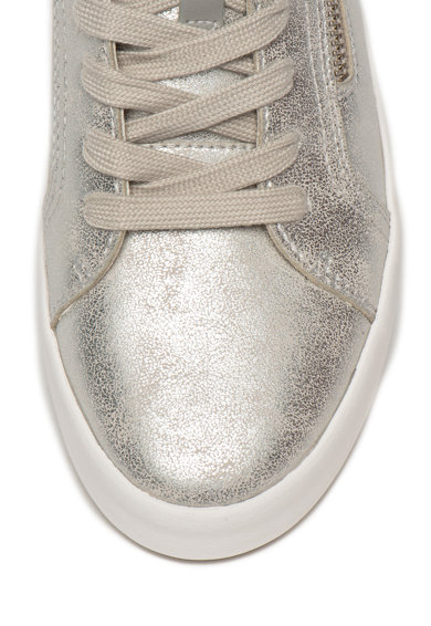 Geox Pantofi sport din piele ecologica cu aspect metalizat Blomiee Femei