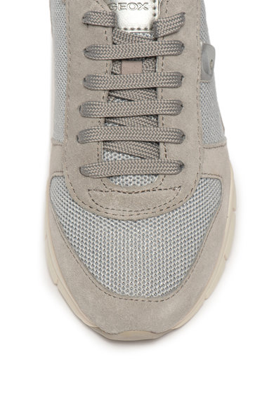 Geox Pantofi sport usori cu garnituri din piele intoarsa Sukie Femei