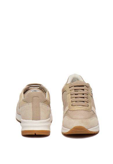 Geox Pantofi sport din piele intoarsa, cu garnituri din material textil Airell Femei