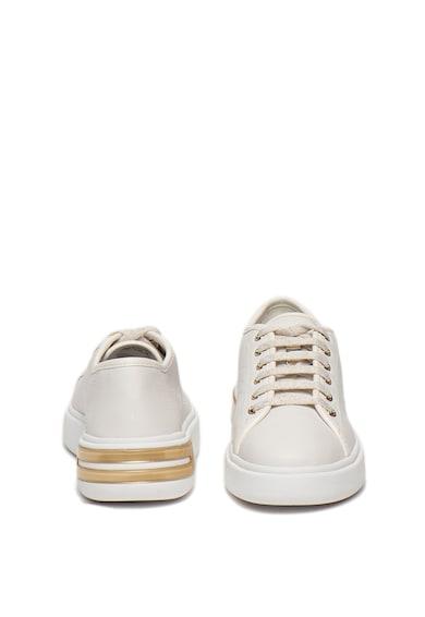 Geox Pantofi sport din piele si piele ecologica Ottaya Femei