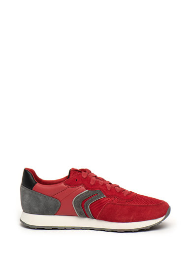 Geox Pantofi sport cu insertii din piele intoarsa Vincit Barbati