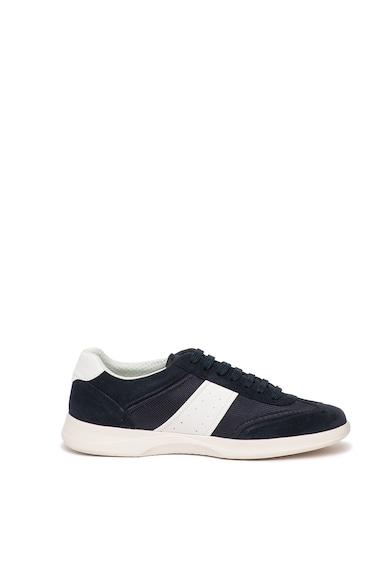 Geox Pantofi sport cu garnituri din piele intoarsa Kennet Barbati