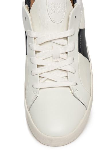 Geox Спортни обувки Warley с цветен блок и кожа Мъже