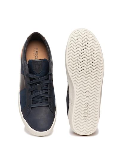 Geox Спортни обувки Warley с велур и кожа Мъже