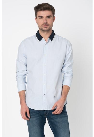 Pepe Jeans London Риза Jordan с контрастна яка Мъже