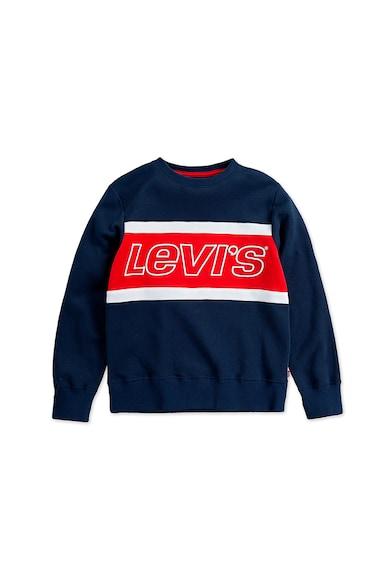 Levi's Kids Bluza sport cu model colorblock si imprimeu logo Baieti